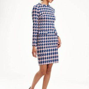 Boden Houndstooth Jacquard Retro Sixties Dress